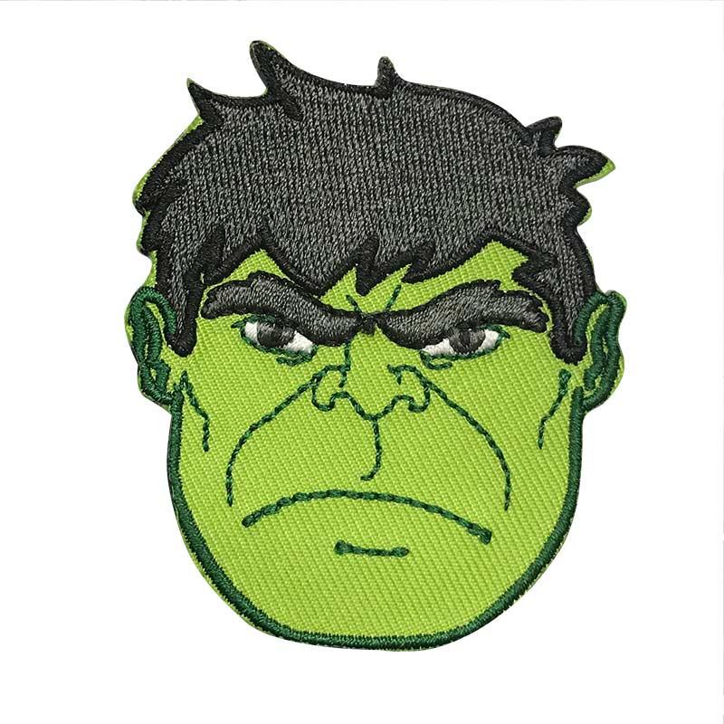 Applicazione Termoadesiva Marvel Faccia Hulk