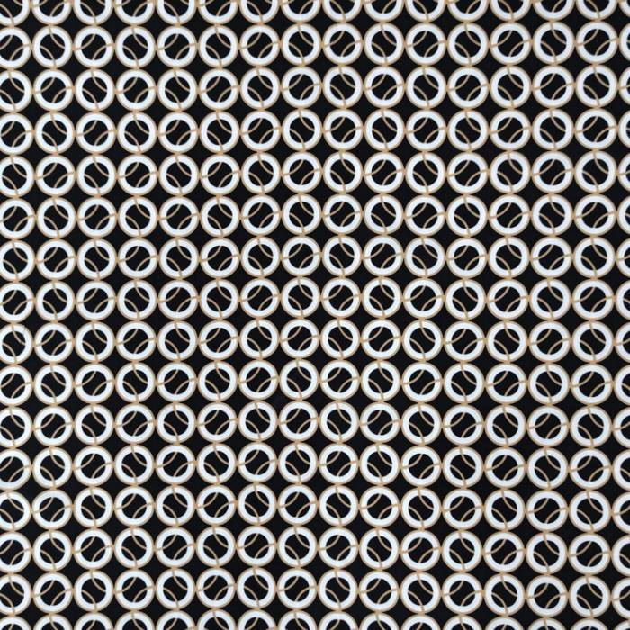 Tessuto Crepe Circle Optical