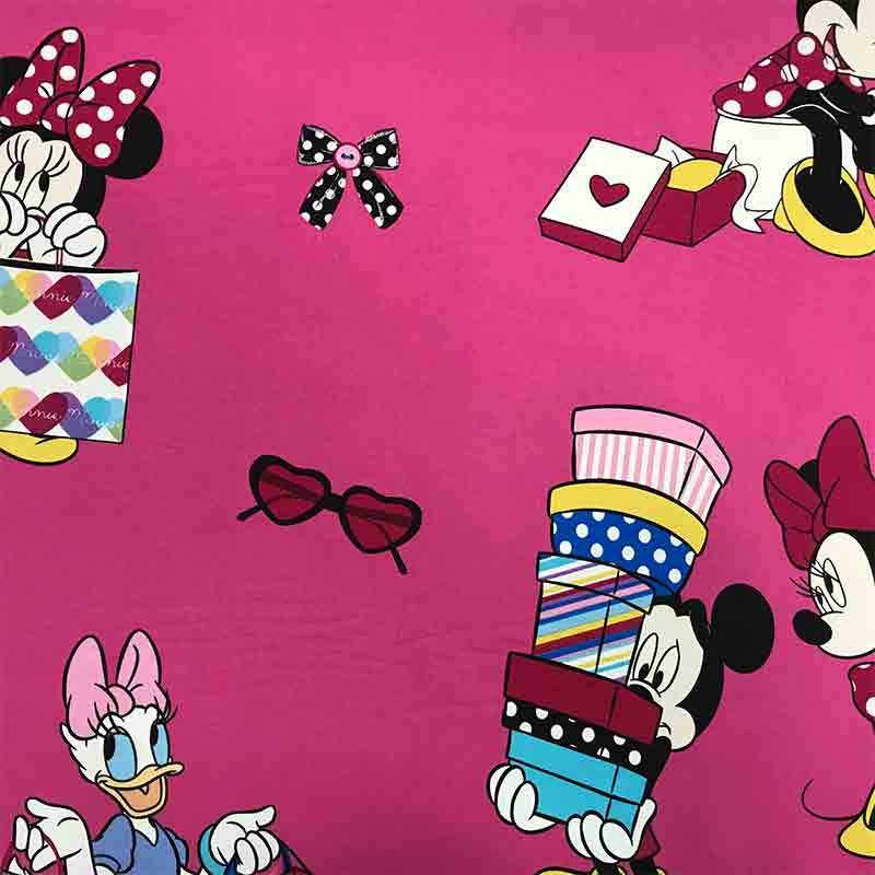 Tessuto Cotone Disney Minnie & Daisy