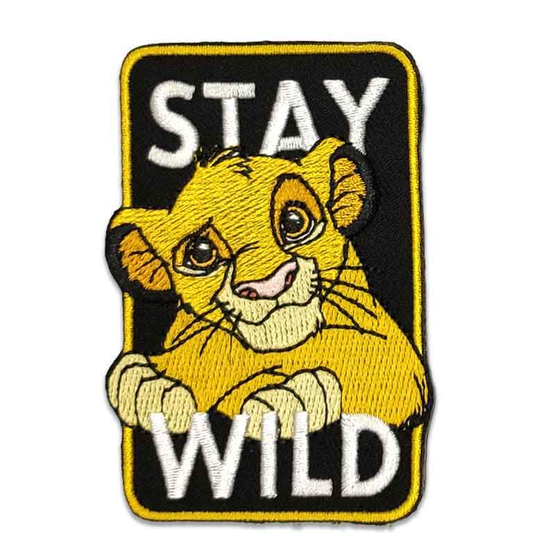 Applicazione Termoadesiva Disney Re Leone Stay Wild