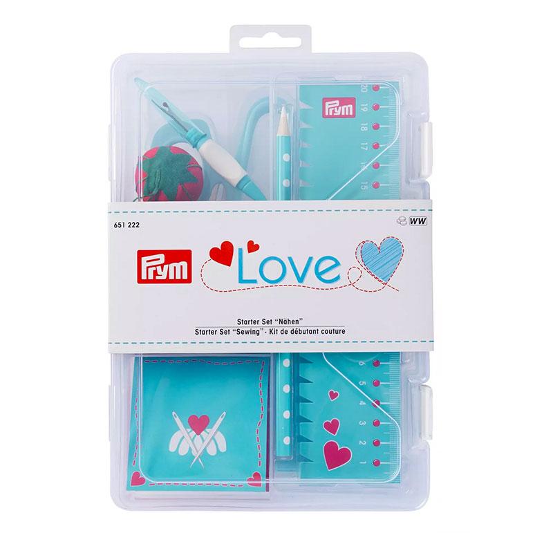 Kit Accessori per Cucito Turchese Prym Love
