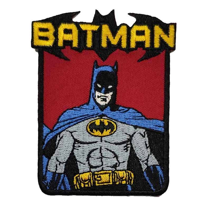 Applicazione Termoadesiva Rettangolare Batman