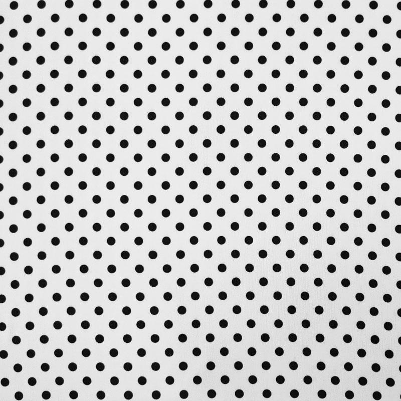 Raso Setato Pois Blu Scuro Sfondo Bianco