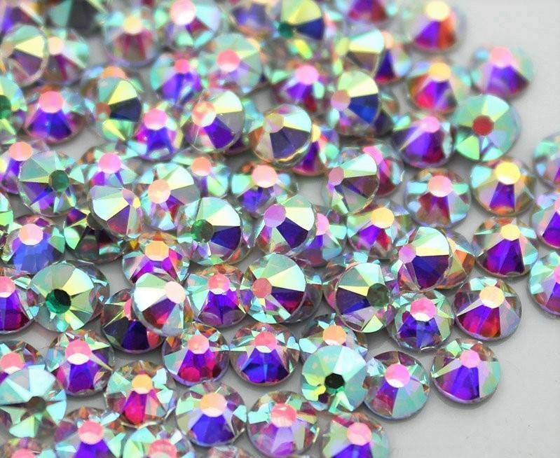 Strass Deluxe Hotfix Crystal AB