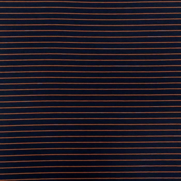 Maglina Blu Rigata Bielastica