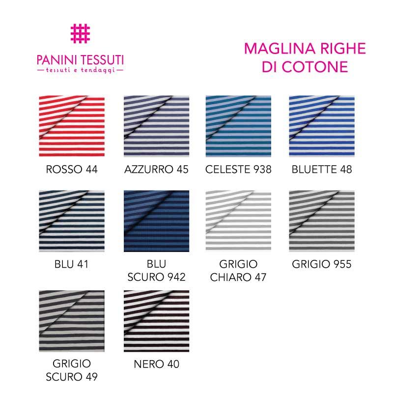 Maglina Righe in cotone varianti