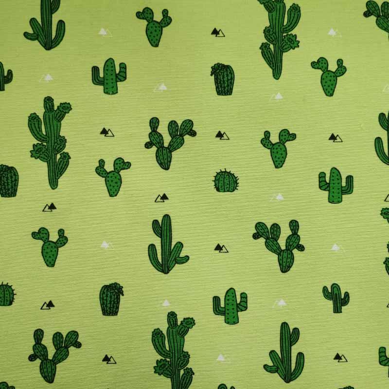 Tessuto Misto Cotone Cactus