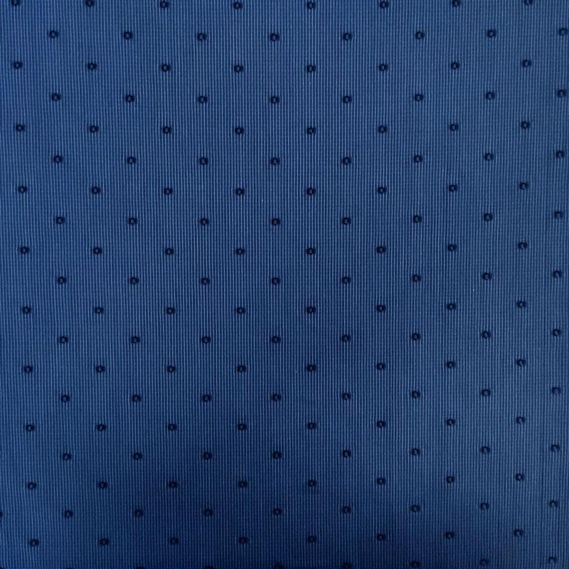 Tessuto per Camicie con Pois in Rilievo