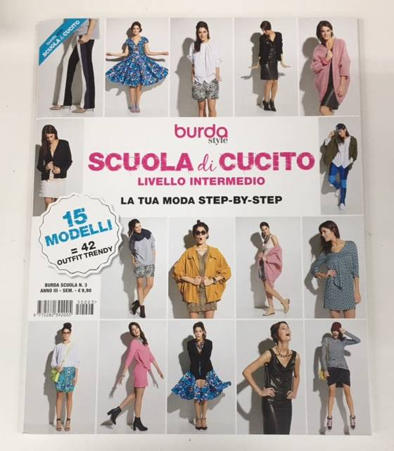 Scuola di Cucito Livello Intermedio Burda Style