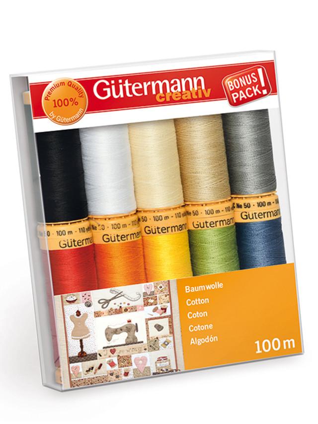 Gutermann Cotone Creative Color 10 Bobine