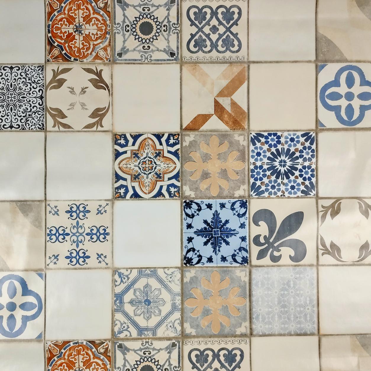 Tovaglia Plastificata Ceramica Siciliana