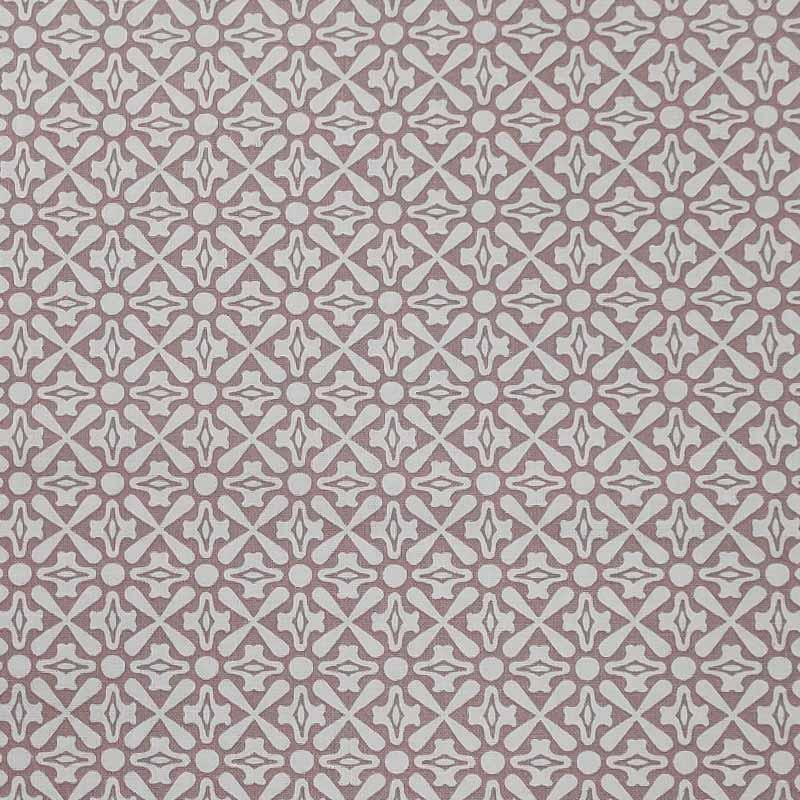 Tessuto Gutermann Fantasia Geometrica Sfondo Rosa
