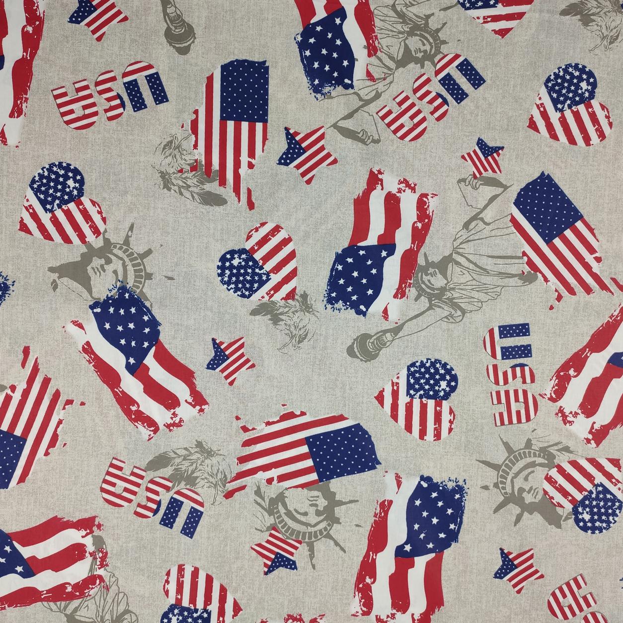 Tessuto Cotone America