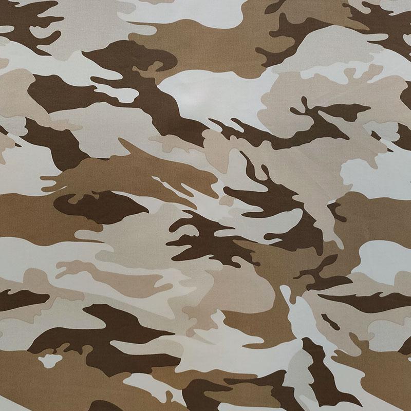 Tessuto Cotone Lux Militare Beige