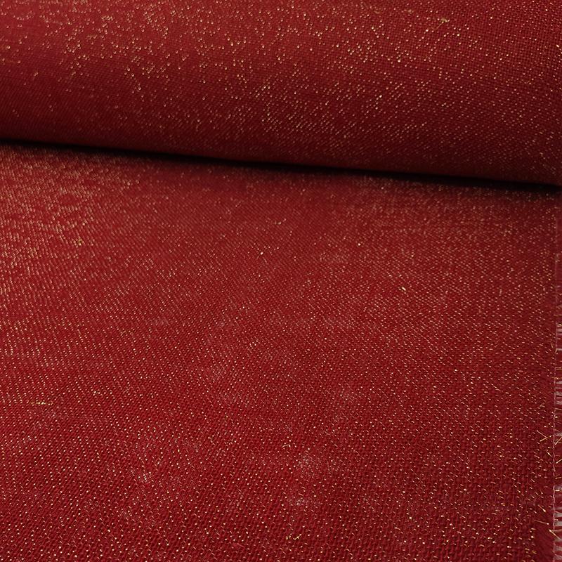 Juta Lurex Rosso