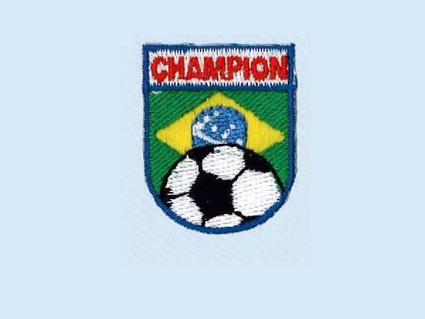 Applicazione Stemma Champion Brasiliano