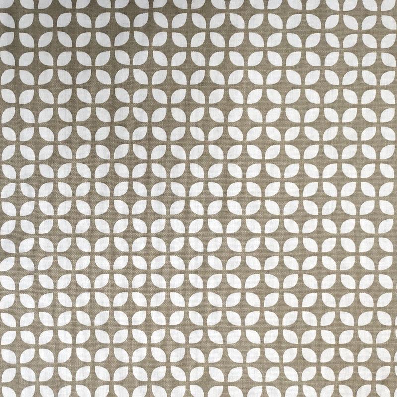 Tessuto-Panama-di-Cotone-Tortora-Geometrie-Bianche
