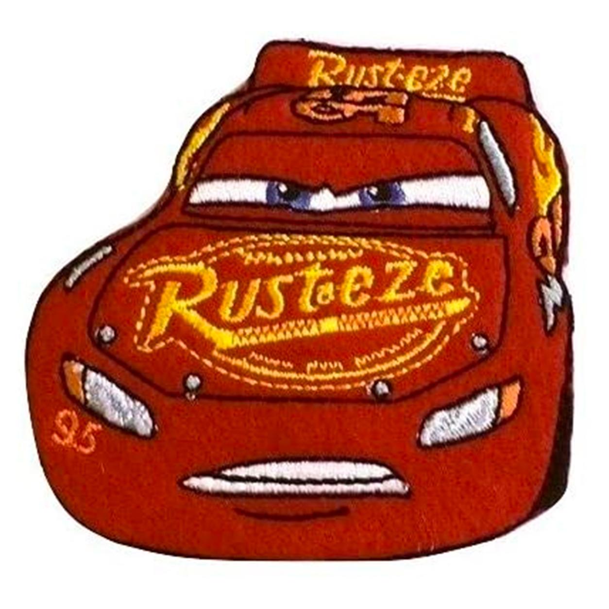 Applicazione Termoadesiva Disney Cars Saetta Mc Queen Rust-eze