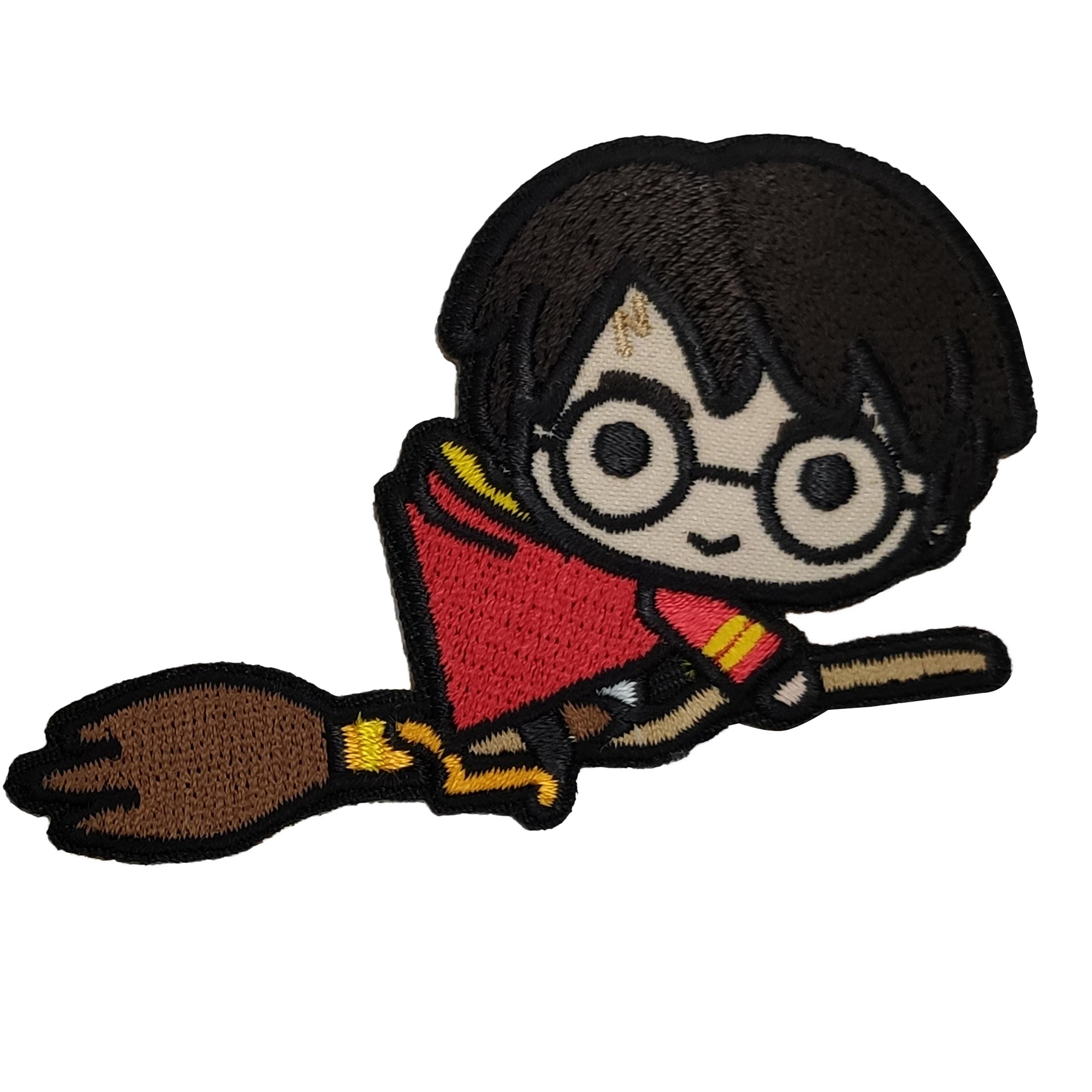 Applicazione Termoadesiva Marbet Harry Potter sulla Nimbus 2000