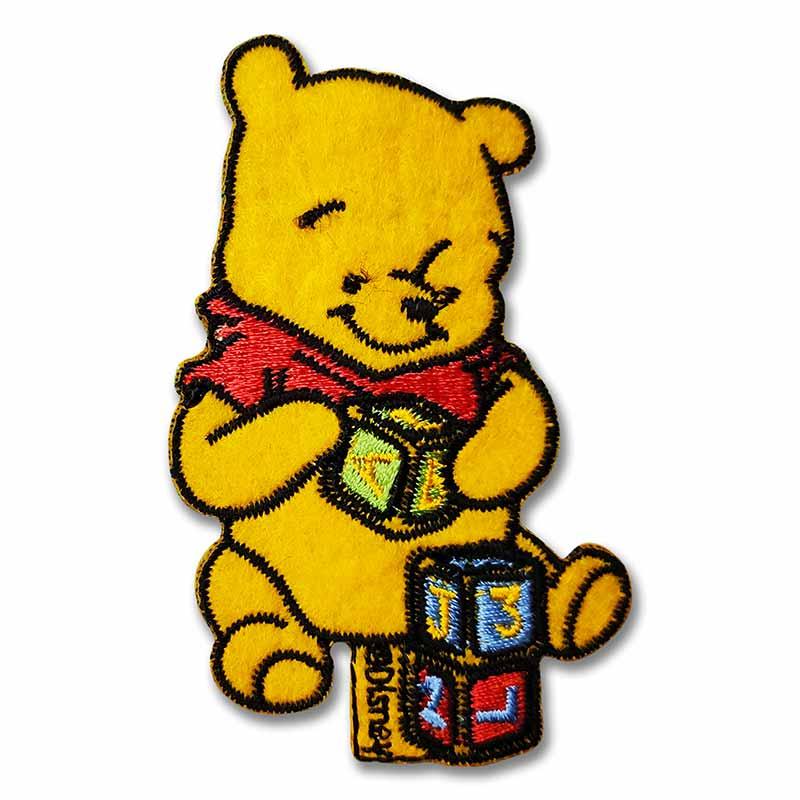 Applicazione Termoadesiva Marbet Disney Winnie the Pooh con Giochi
