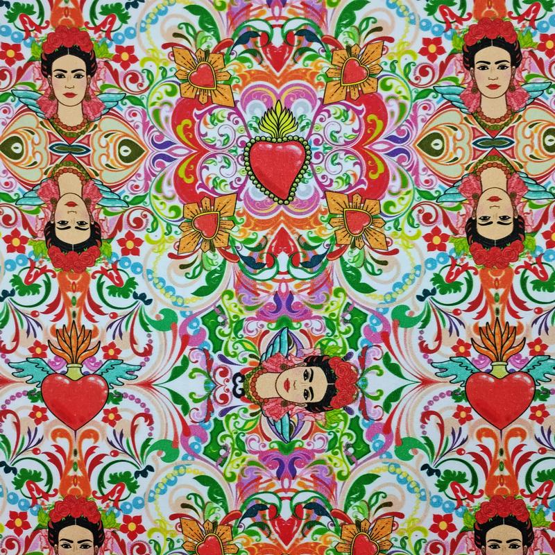 Tessuto-Arredo-Cotone-Frida-Kahlo