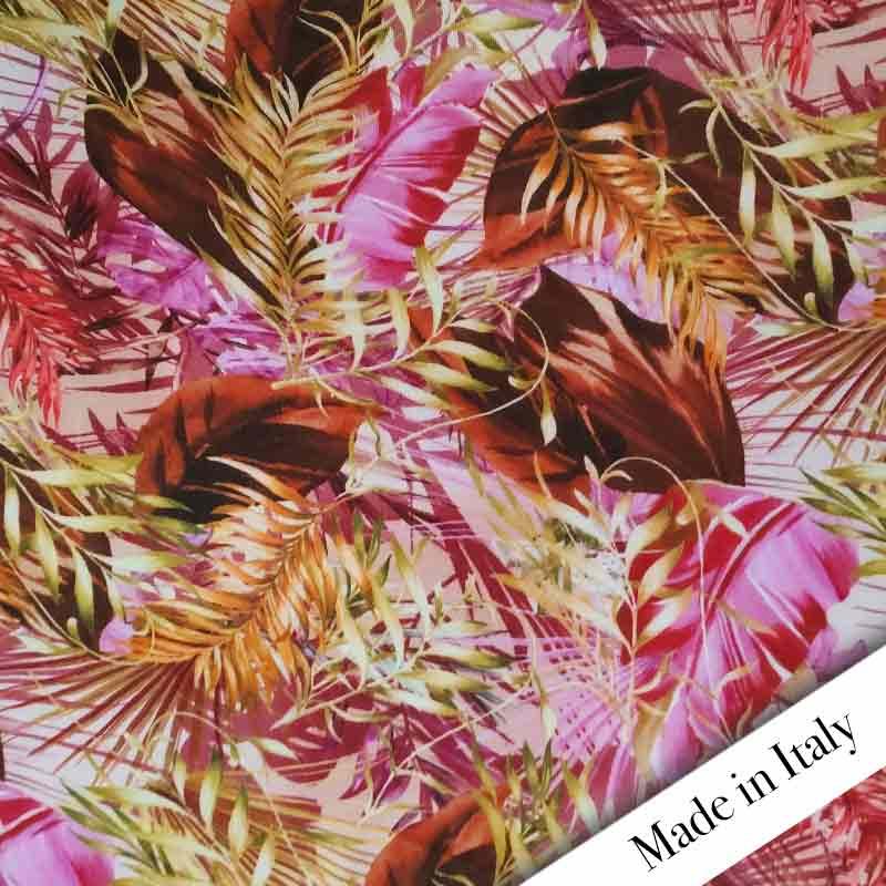 Maglina Jungle Sfondo Rosa