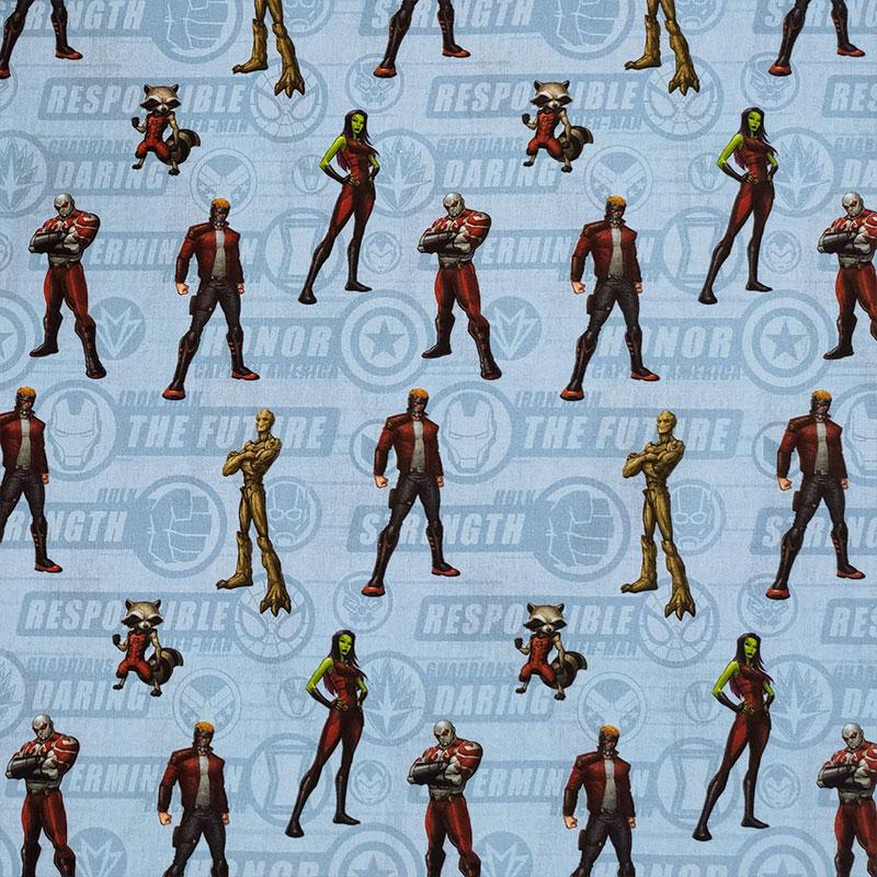 Tessuto Cotone Marvel Guardiani della Galassia