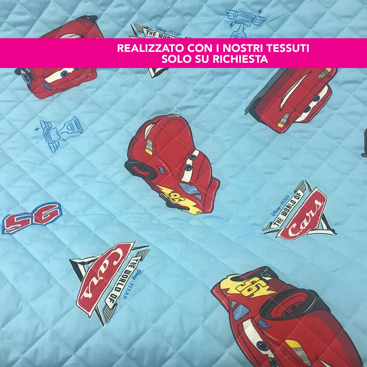 Sacco Nanna Personalizzato Cars
