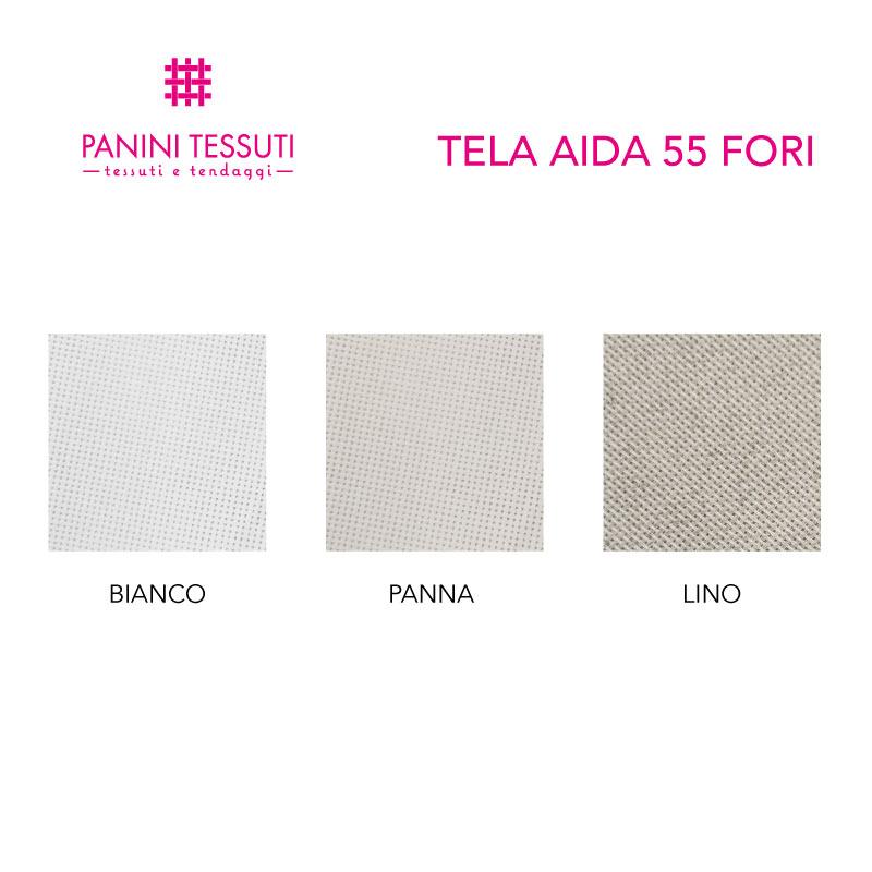 Tela Aida 55 Fori H 180 cm
