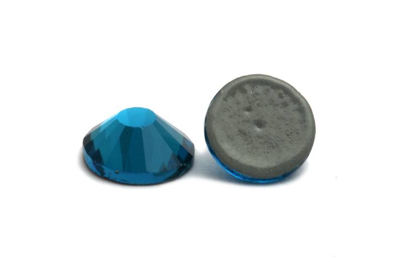 Strass Deluxe Hotfix Blue Zircon