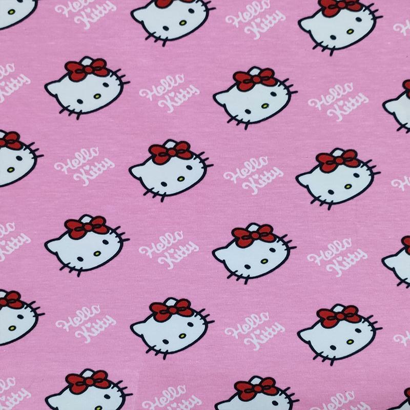 Jersey di Cotone Hello Kitty Grande