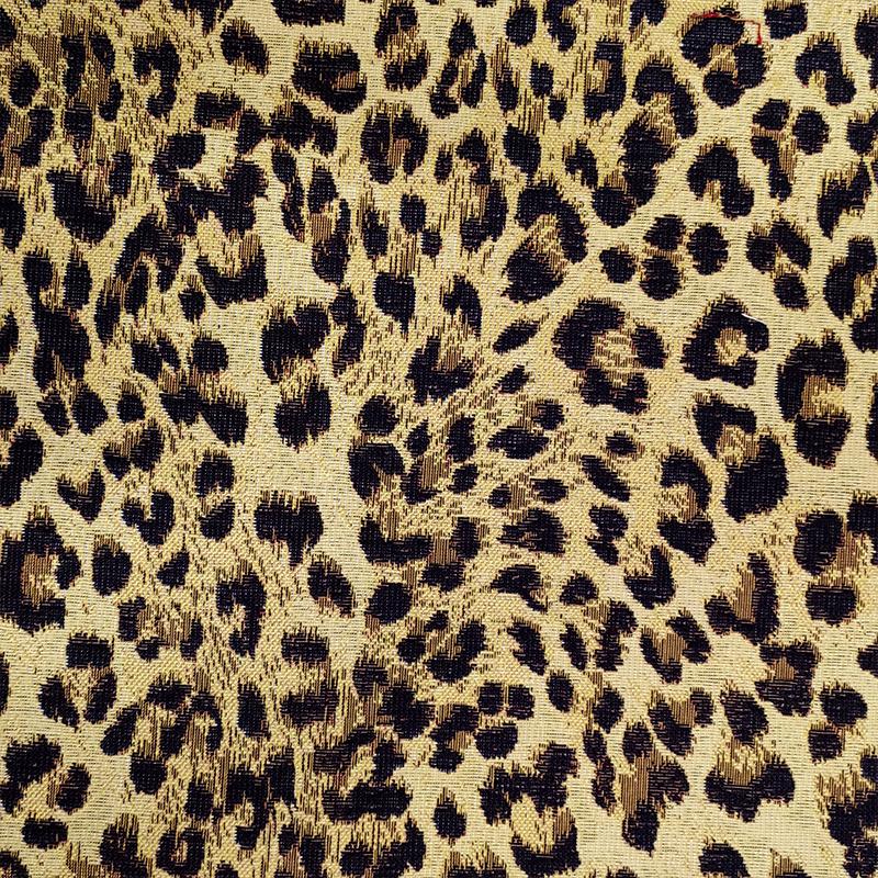 Tessuto Gobelin Leopardato