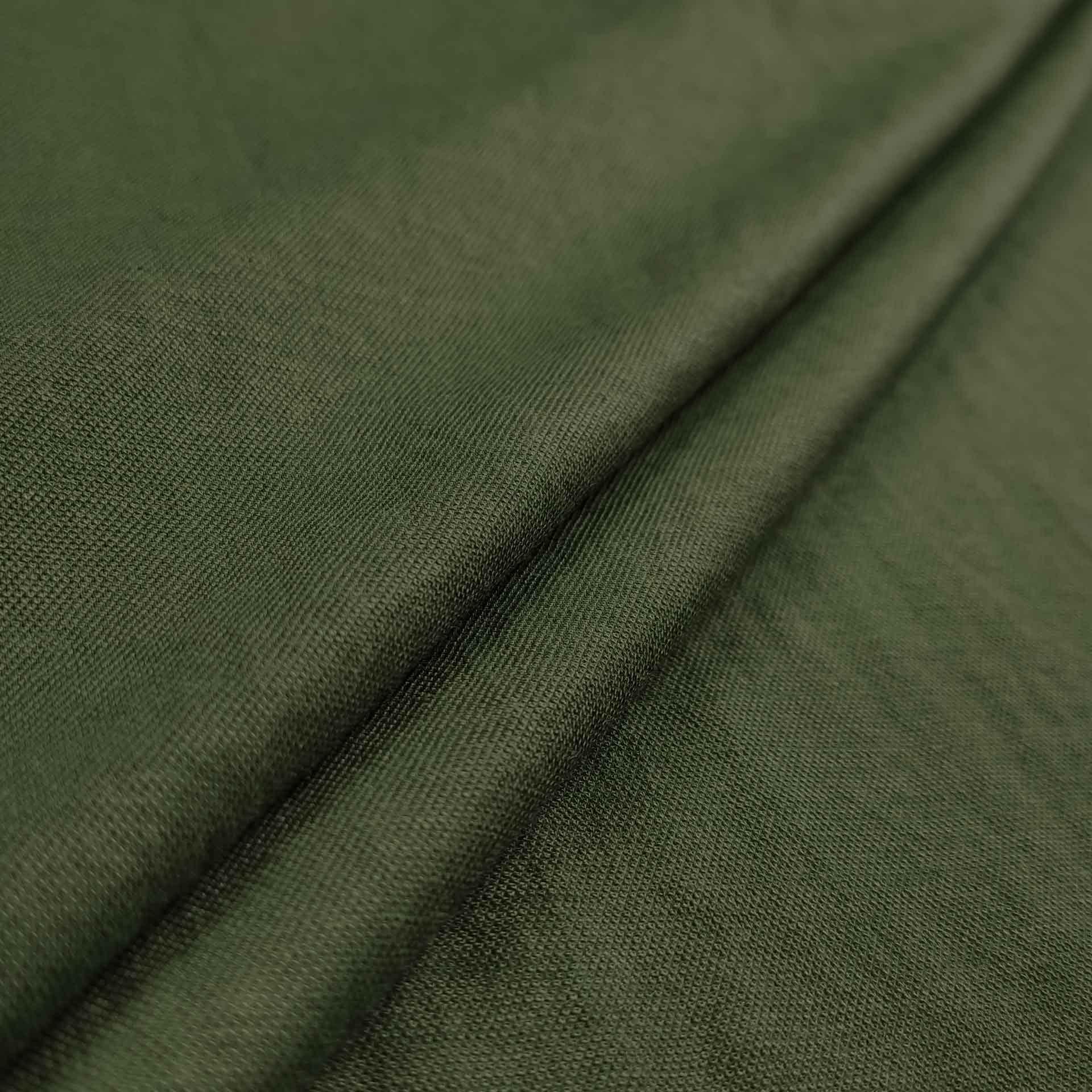 Tessuto Jersey Linen Look Naturale