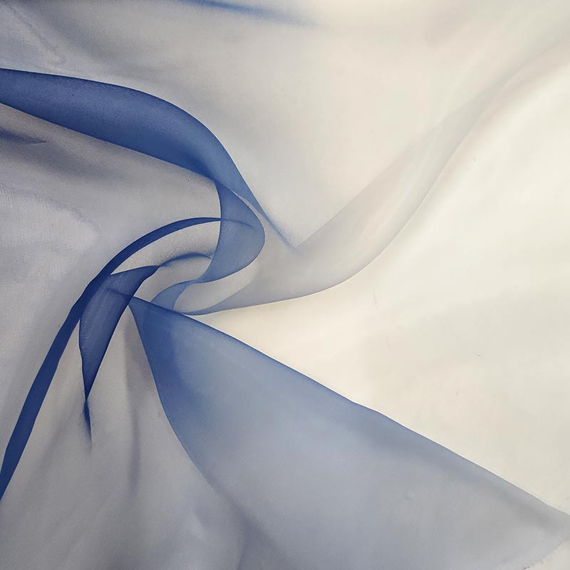 Organza Sfumata Blu