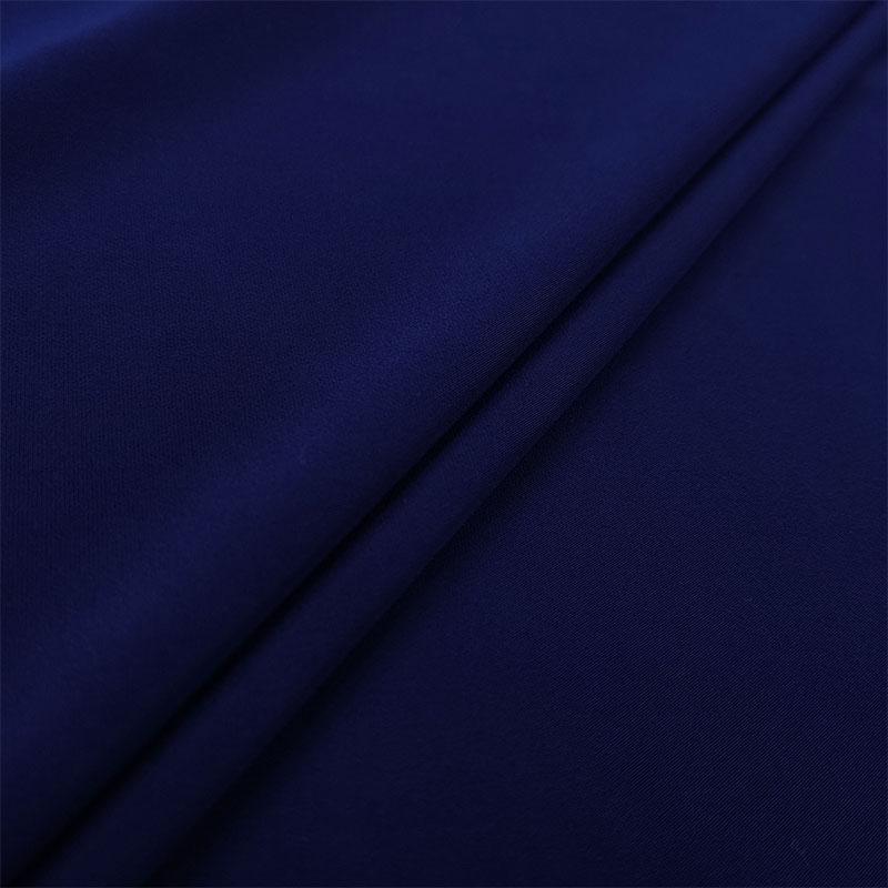 Tessuto Jersey Tinta Unita Blu Medio
