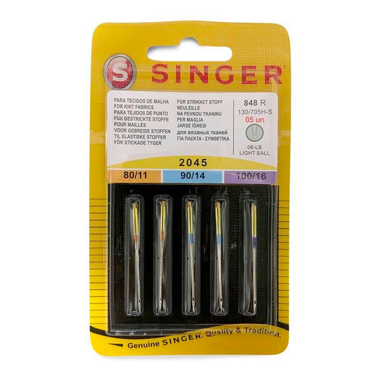 Aghi Singer Per Maglia set 5 aghi