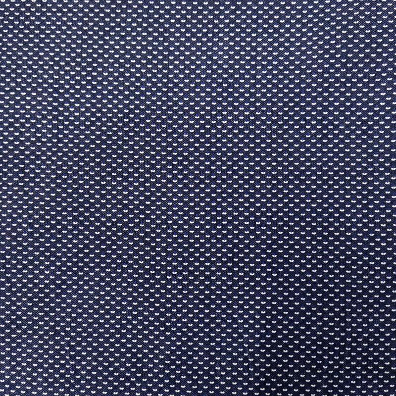 Tessuto Camiceria Jeans Micro Fantasia
