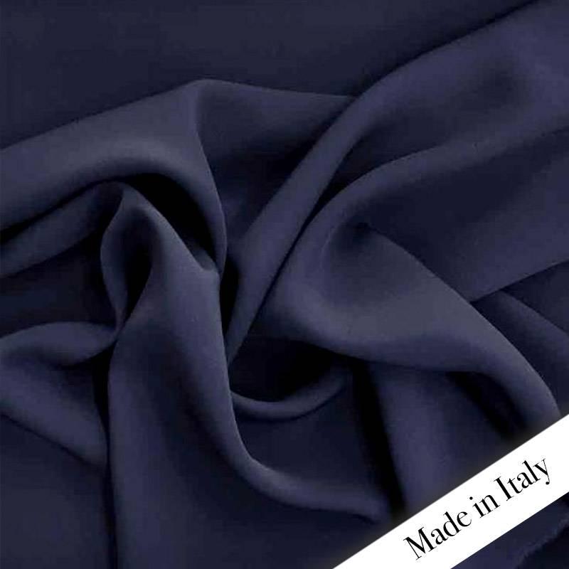 Crepe Cady Blu