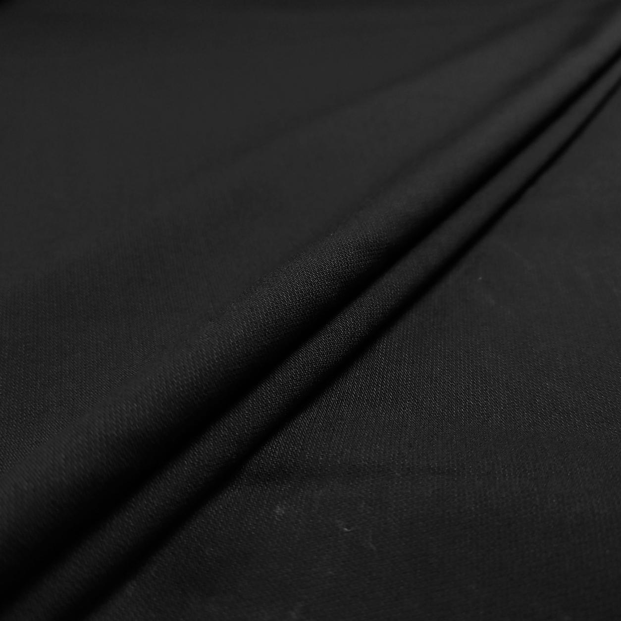Tessuto Comfort Nero Elasticizzato