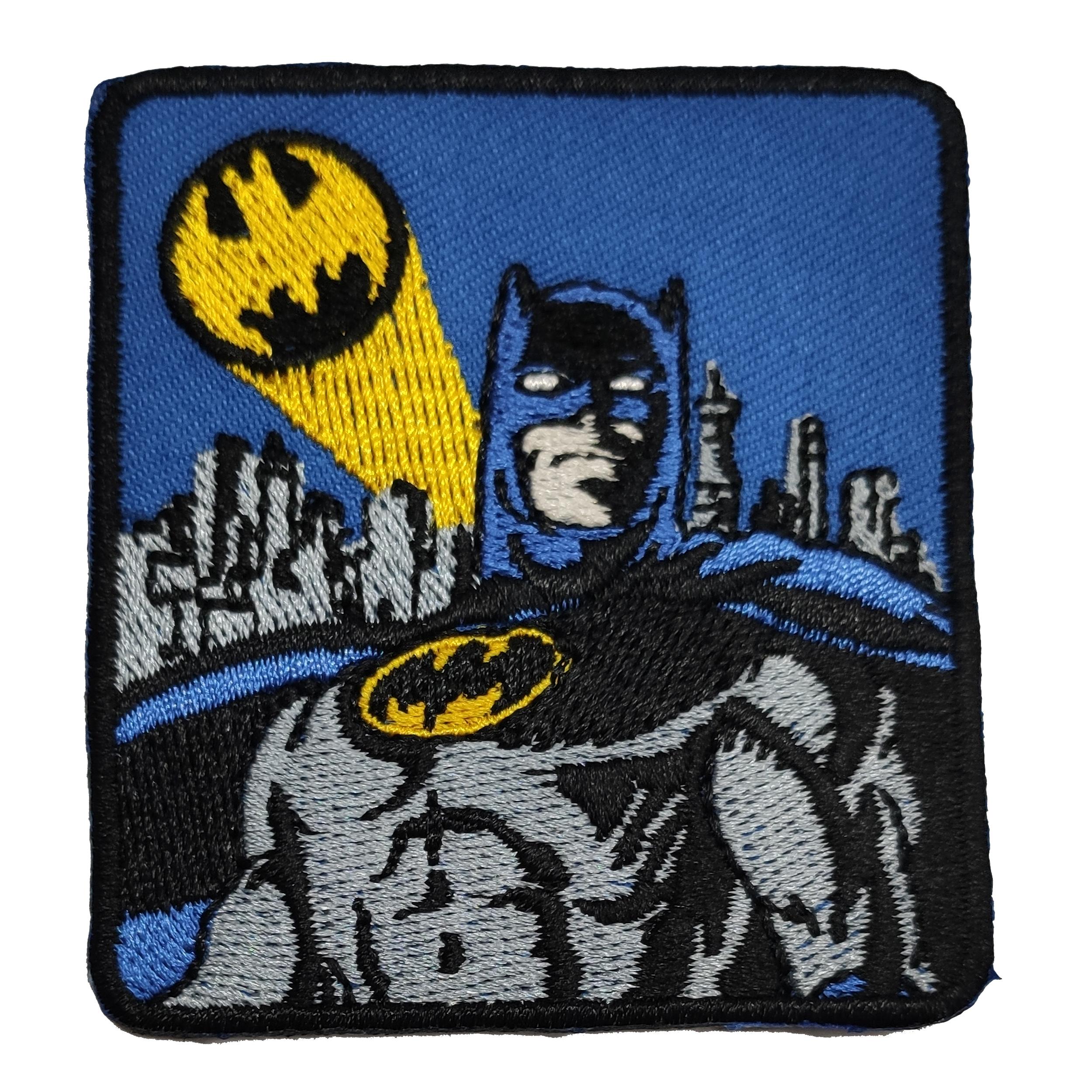 Applicazione Termoadesiva Batman con Bat-Segnale