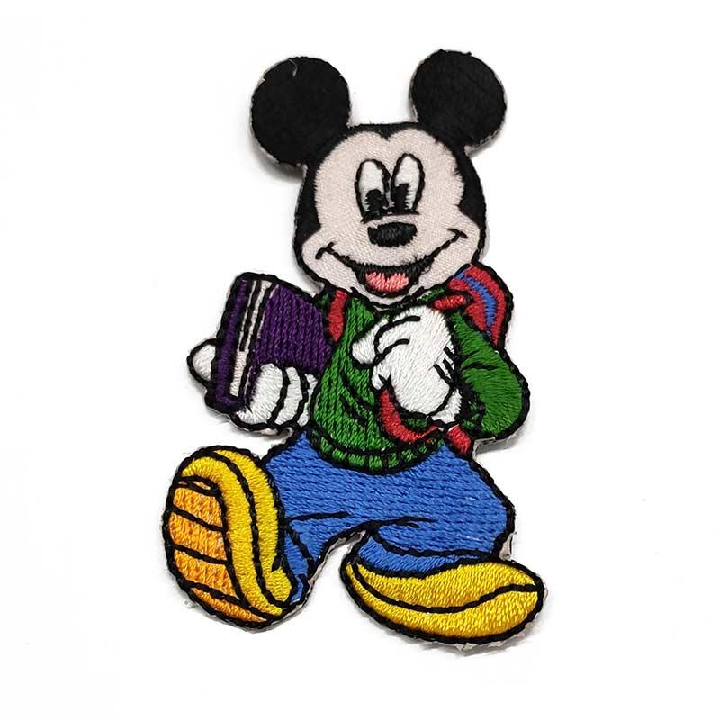 Applicazione Termoadesiva Disney Topolino Scuola