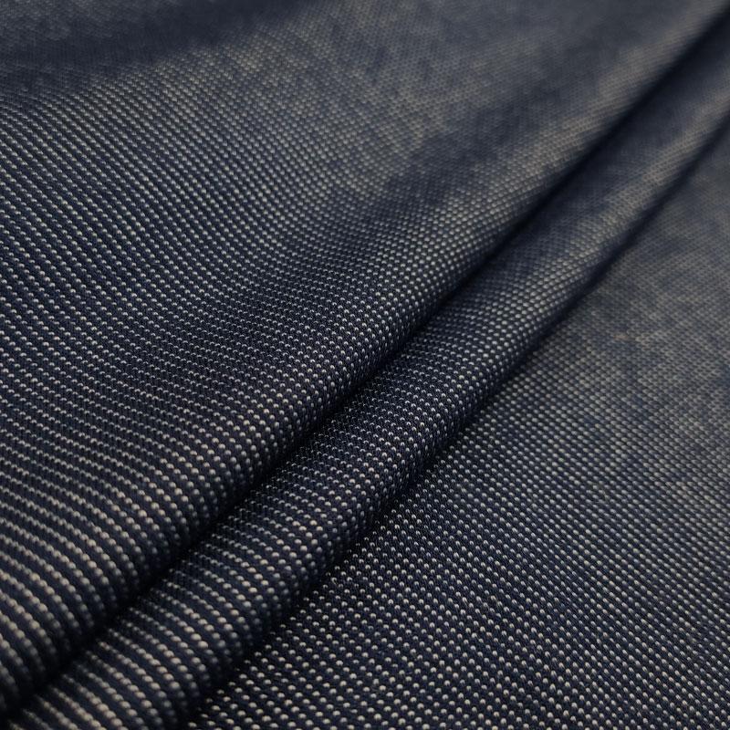 Maglina Effetto Jeans Elasticizzata Blu