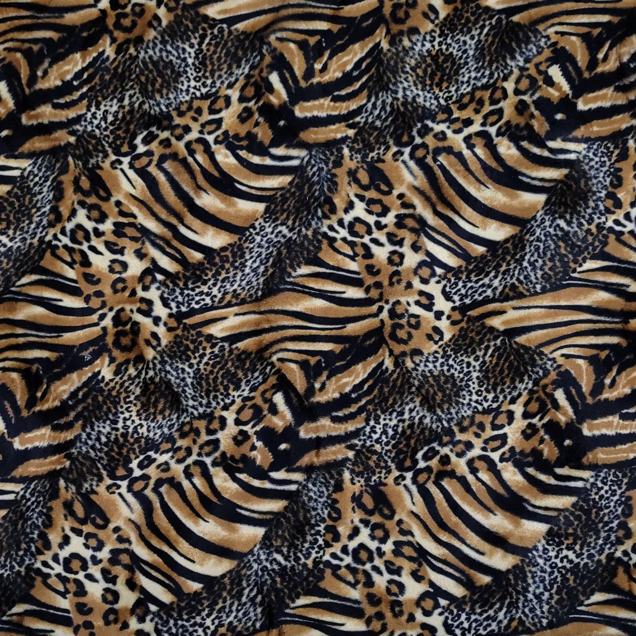Tessuto Cavallino Fantasia Patchwork Animalier