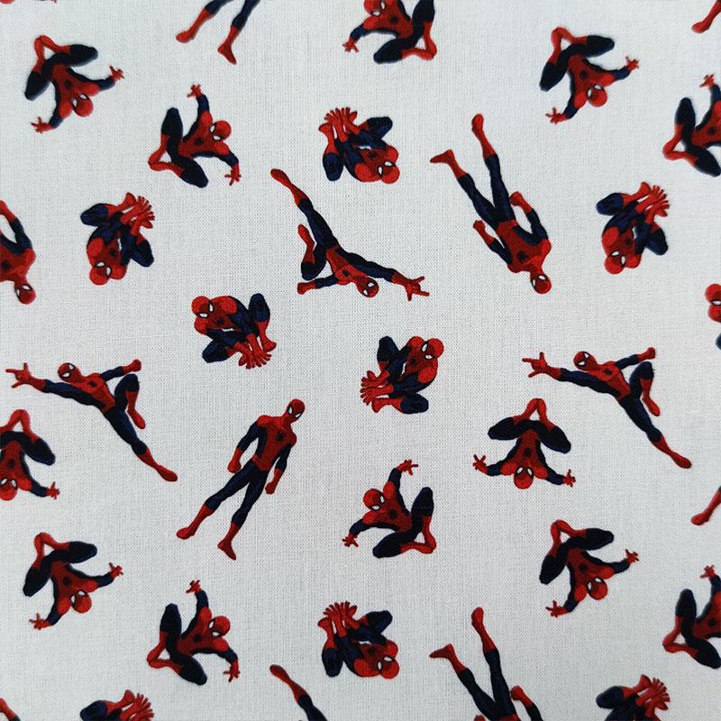Tessuto Cotone Marvel Spiderman Piccolo