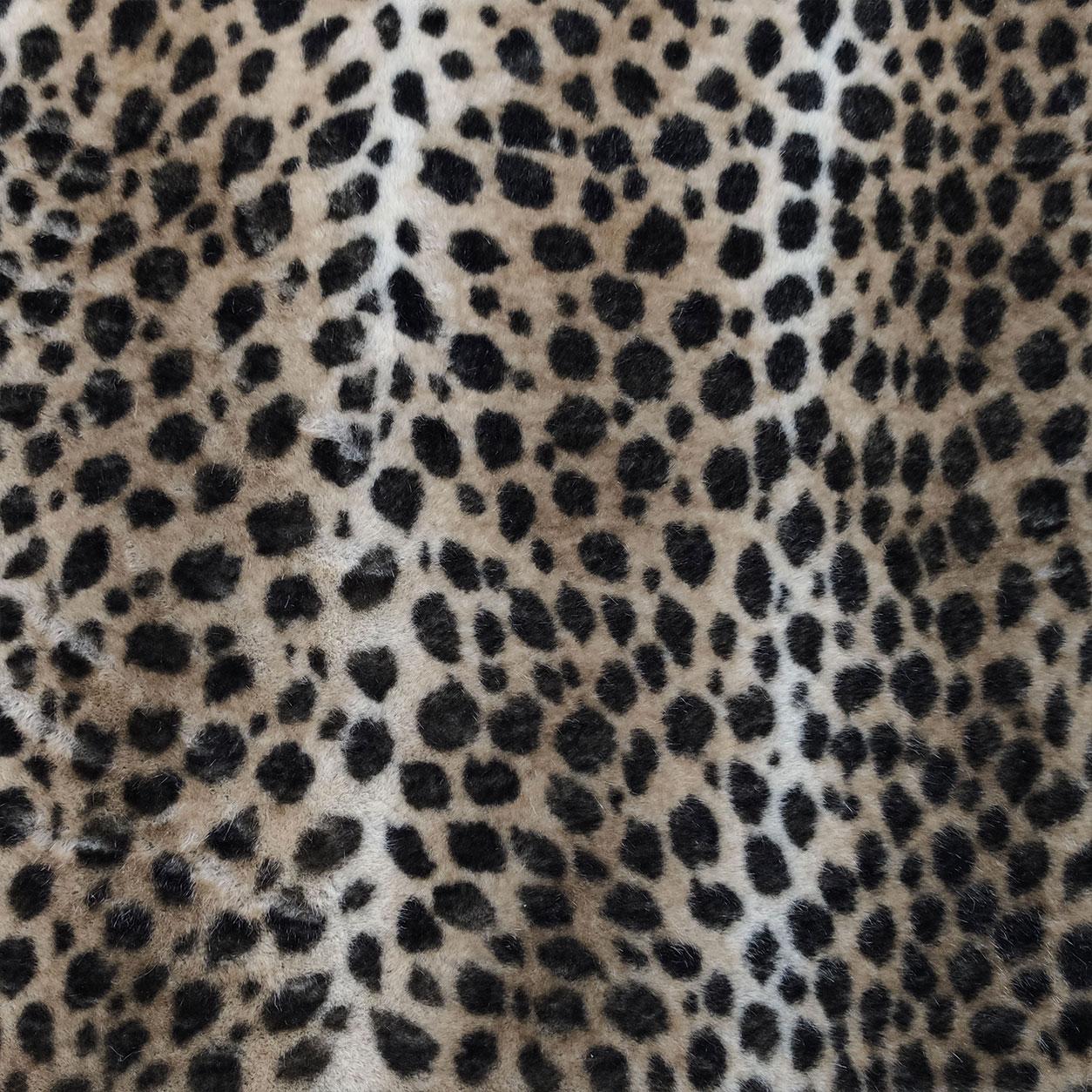 Ecopelliccia Leopardata