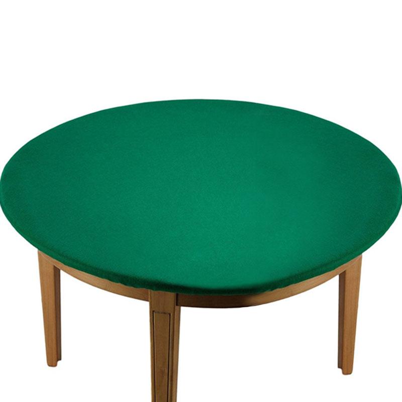 Tovaglia Rotonda per Tavolo da Gioco con Elastico