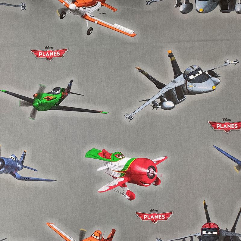 Tessuto Cotone Disney Planes