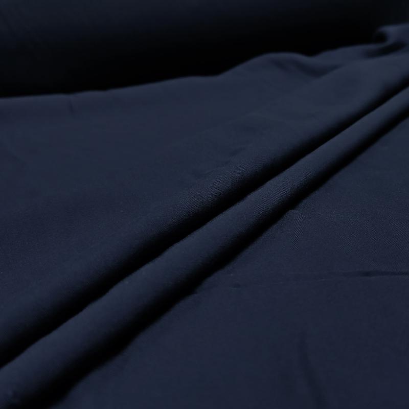 Mussola di Cotone Blu