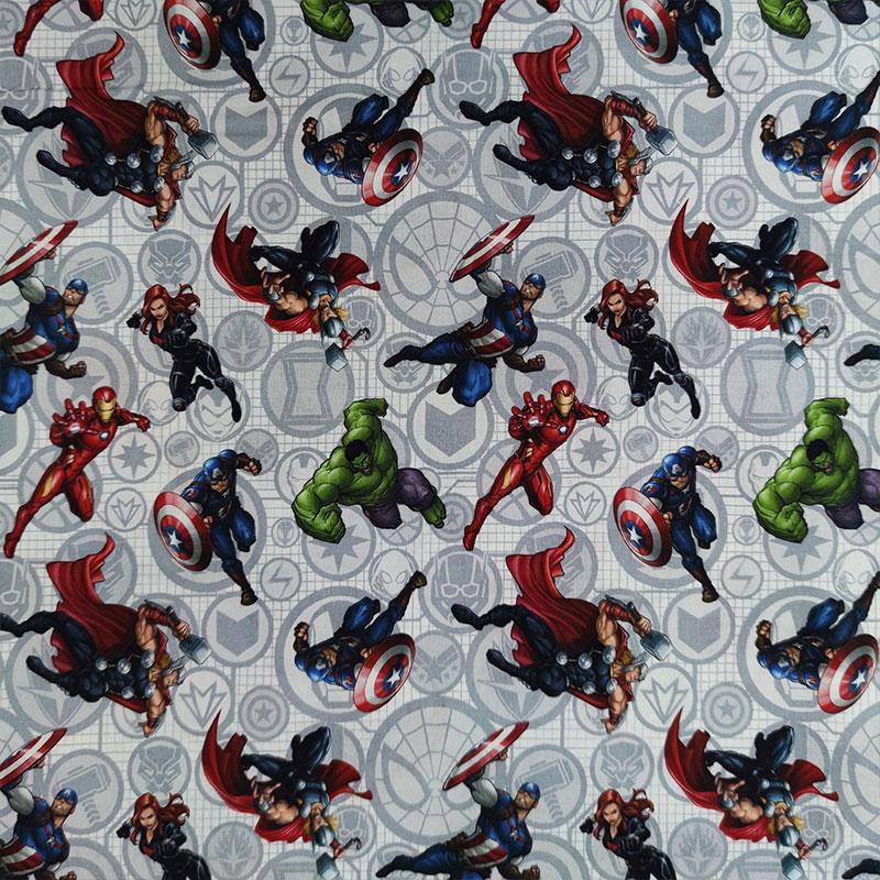 Tessuto Cotone Marvel Avengers