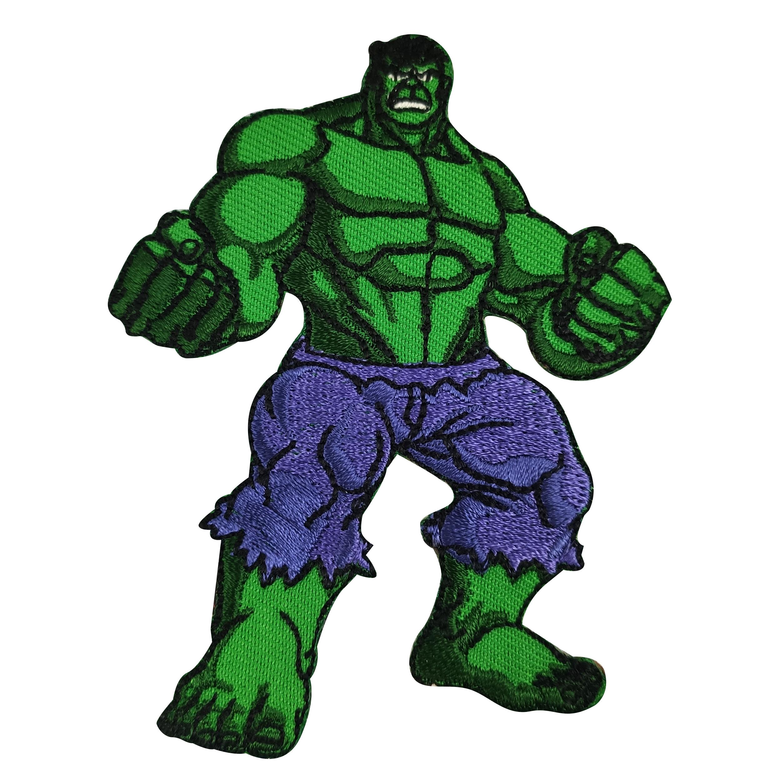 Applicazione Termoadesiva Marbet Marvel Hulk